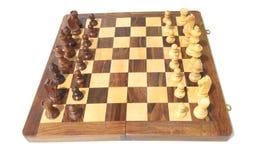 在棋盘的棋子 免版税库存图片