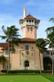 在棕榈滩海岛,棕榈滩,佛罗里达上的3月Lago 库存图片