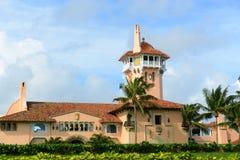 在棕榈滩海岛,棕榈滩,佛罗里达上的3月Lago 图库摄影