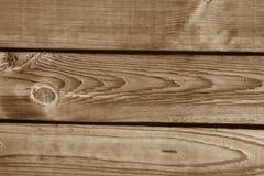 在棕色口气的木墙壁纹理 免版税库存照片
