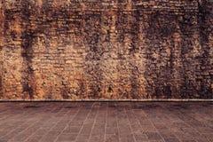 在棕色颜色的墙壁 库存图片