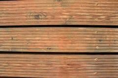 在棕色颜色的现代木板条板 库存照片