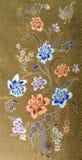 美好的花纹花样背景 库存照片
