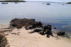 在棺材海湾的看法 库存图片