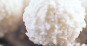 在椰子剥落的糖果 股票录像