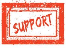 在橙色方形的框架不加考虑表赞同的人的支持与难看的东西纹理 免版税库存照片