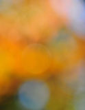 在橙色金子和蓝色的抽象心情背景 库存图片