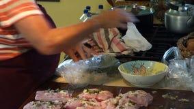 在橡皮防水布的比萨店, bequia的请求的鲜鱼 影视素材