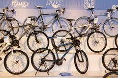 欧亚大陆Moto自行车商展2013年 图库摄影