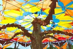 在欧佐劳节日的当代艺术 免版税库存照片