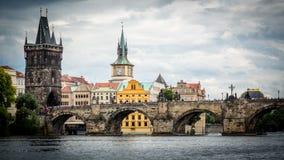 在欧洲中间的美丽的城市布拉格 图库摄影