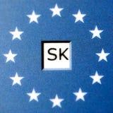 欧盟的斯洛伐克 免版税库存图片