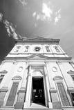 在欧洲和阳光的纪念碑老建筑学 库存图片
