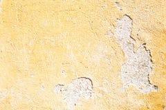 在欧洲意大利古董contruction黄色颜色的桔子 库存图片