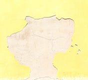 在欧洲意大利老墙壁和古董contruction低c的颜色 库存照片