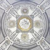 在歌剧的天花板样式 免版税库存图片