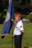 在正常小山公墓的阵亡将士纪念日庆祝 免版税图库摄影