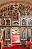 在正统里面的教会 库存照片