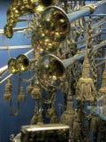 在武力和军史的皇家博物馆的喇叭 图库摄影