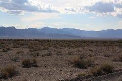 在死亡谷国家公园,内华达的风景 库存图片