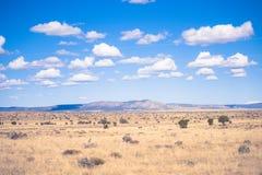 在死亡谷的多云天空 免版税图库摄影