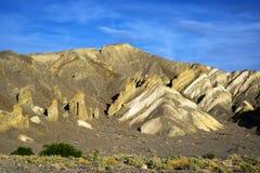 在死亡谷的砂岩形成 库存照片