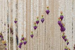 在每年Lumpini文化节日的装饰 库存图片