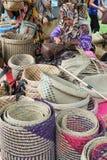 在每年Lumpini文化节日的Handicrafter 库存图片