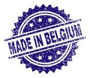 在比利时邮票封印做的被抓的织地不很细 库存例证