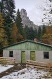 在比卡兹峡谷的一个小屋 免版税库存图片