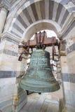 在比萨,意大利塔的响铃  库存图片