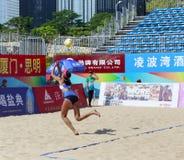 在比赛的Linyiqi 免版税库存照片