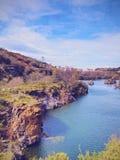 在毕尔巴鄂附近的La Arboleda 库存图片
