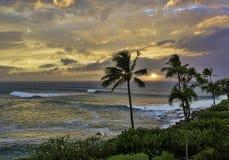 在毛伊夏威夷的Honokeana海湾 库存照片