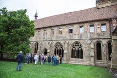 在毛尔布龙修道院的喷泉 免版税图库摄影