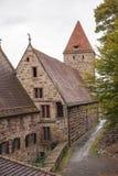 在毛尔布龙修道院的喷泉 库存照片