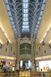 在毫华台北101购物中心里面在台北 免版税图库摄影