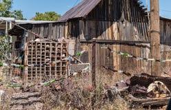 在氯化物,亚利桑那的围场艺术 图库摄影