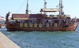 在水的帆船 免版税图库摄影