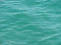 在水的波纹 某处在黑海 免版税图库摄影