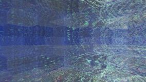 在水立方体背景的纹理下 免版税库存图片