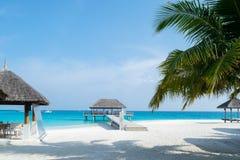 在水,浪漫地方为蜜月假期,su的餐馆 免版税库存图片