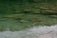 在水,清楚的纹理的雨 库存照片