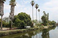 在江边和房子的看法 库存照片
