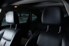 在汽车的两个位子 库存图片