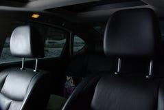 在汽车的两个位子 库存照片