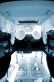 在汽车的安全保护系统 免版税库存图片