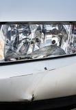 在汽车的损伤 免版税库存图片
