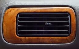在汽车的空调器 库存照片