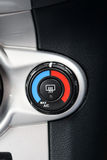 在汽车的空调器 免版税图库摄影